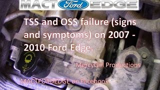 getlinkyoutube.com-TSS and OSS 6F50 transmission failure on 2007 2010 Ford Edge explained