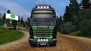 getlinkyoutube.com-Euro Truck Simulator 2  -  Scania R730  Neon Combo Pack