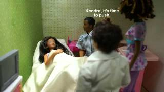 getlinkyoutube.com-A Barbie Fashion Doll Story: Ep 79 Kendra Gives Birth