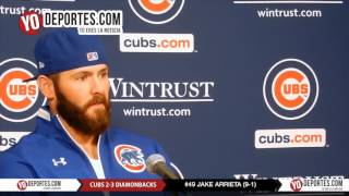 Jake Arrieta Chicago loss Cubs 2-3 Arizona Diamondbacks