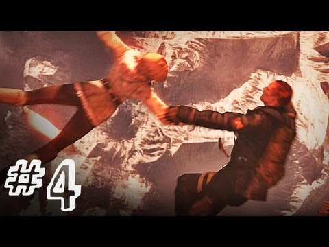 Resident Evil 6 Gameplay Walkthrough Part 4 - CHOPPER RIDE - Jake / Sherry Campaign Chapter 1 (RE6)