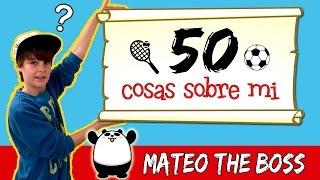 getlinkyoutube.com-50 COSAS SOBRE MI * Conoce mejor a MATEO HAACK