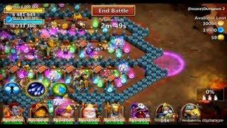 getlinkyoutube.com-Castle Clash Insane Dungeon 2-5