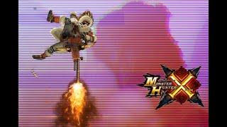 getlinkyoutube.com-MHX - 6* Gore Magala - Aerial LBG Gameplay