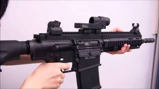 getlinkyoutube.com-VFC・HK417 GBB 日本Ver. 動作テスト動画