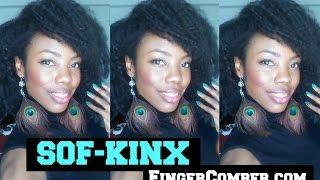 getlinkyoutube.com-SOF-KINX Finger Comber Hair Review | The YES! Show