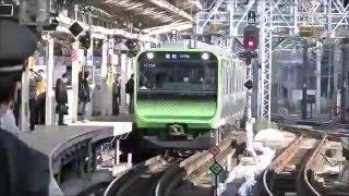 横浜駅を通過する山手線用E235系
