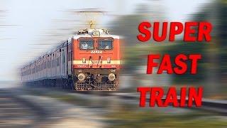 getlinkyoutube.com-SUPER FAST TRAIN Curves at Top Speed : Indian Railways