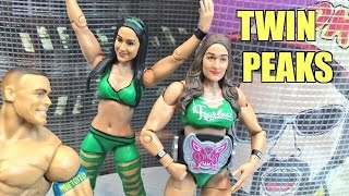 getlinkyoutube.com-WWE ACTION INSIDER: Bella Twins Mattel BATTLEPACK Series 38 Wrestling Figure Review!