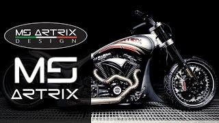 "getlinkyoutube.com-Harley-Davidson Screamin' Eagle ""Keetch Racing"" by MS Artrix | Motocicleta Dragster Custombike"