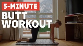 getlinkyoutube.com-5 Minute Butt Workout for a Sexy Booty