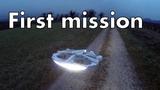 getlinkyoutube.com-RC Millennium Falcon - First mission