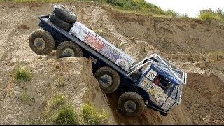 getlinkyoutube.com-Extrem off road 8X8 TRUCK TATRA - Truck trial