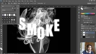 getlinkyoutube.com-ตัวอักษรควันบุหรี่ photoshop