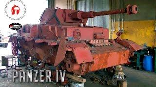 getlinkyoutube.com-Panzer IV. Czołg z Kluczewa