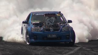 BLOWN is Summernats 26 Burnout Champion