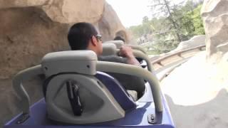 getlinkyoutube.com-New Matterhorn Bobsleds POV Disneyland California