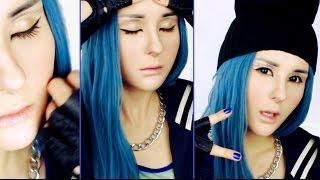 getlinkyoutube.com-Dara 2NE1 (Come Back Home) make up tutorial by Anastasiya Shpagina