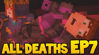 Minecraft Story Mode - ALL DEATH SCENES! - Episode 7