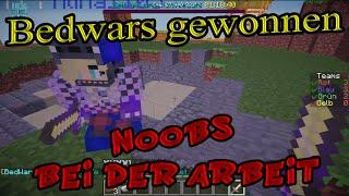 getlinkyoutube.com-Bedwars gewonnen in Noobs bei der Arbeit Minecraft 1.7.2 - 1.7.10