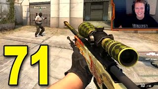 CSGO - Part 71 - OMG WE'RE BACK! (CounterStrike Game Highlights)