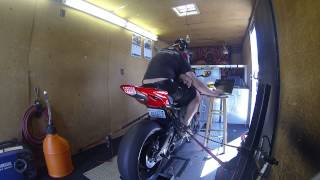 getlinkyoutube.com-2012 Honda CBR1000rr dyno tune with TaylorMade exhaust