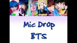 BTS- Mic Drop (Bulgarian colorcoded translation)