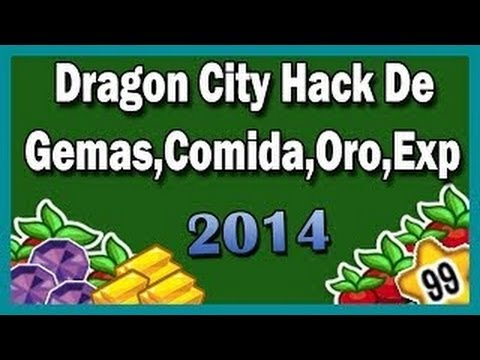 Hack De Gemas,comida,oro,exp Funcionando 2014  Dragon City