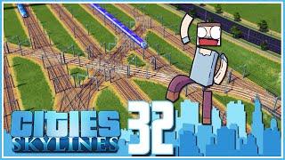getlinkyoutube.com-Cities Skylines - Ep.32 : Modular Train Station!