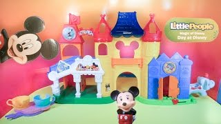 getlinkyoutube.com-MICKEY MOUSE Little People Magic Day at Disney a Disney World Video Toy Review