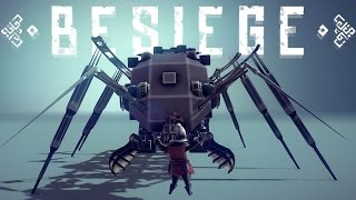 getlinkyoutube.com-Besiege Best Creations - Besiege's Fastest Tank! Walking Mechs & a Flying Stig! - Besiege Highlights