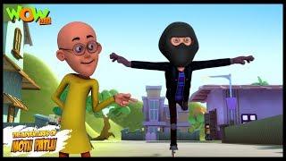 getlinkyoutube.com-Roller Skate Thief - Motu Patlu in Hindi