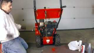 getlinkyoutube.com-MTD Yard Machine snow blower maintenance & oil change