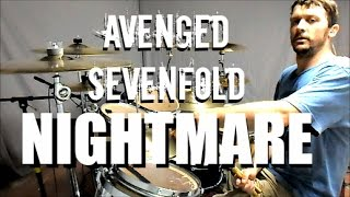 AVENGED SEVENFOLD - Nightmare - Drum Cover