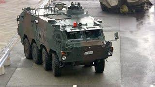 日本の軍用車 装甲車 大集合!陸上自衛隊 Military vehicle Japan Army