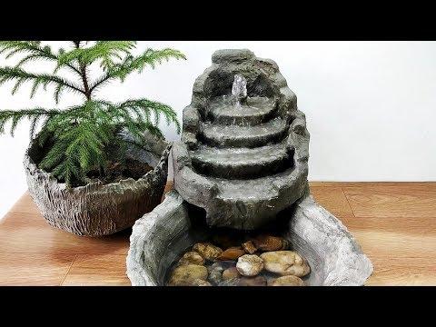 Cum sa faci o fantana arteziana din ciment