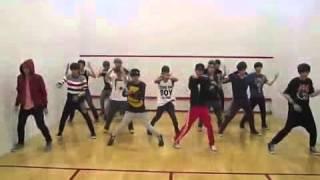 getlinkyoutube.com-EXO & SHINee special stage -  Lucifer practice