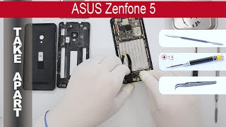 getlinkyoutube.com-How to disassemble 📱 ASUS ZenFone 5 A500CG / A501CG, Take Apart, Tutorial