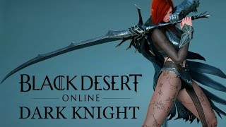 getlinkyoutube.com-Black Desert Online - Dark Knight - Long Customization & Emotes Preview - Dark Elf