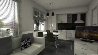 25m2 decorar tu casa es for Comedor 25m2