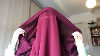 getlinkyoutube.com-Niqab tutorial with eye veil, eye cover