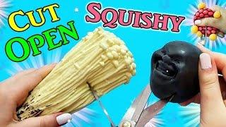 TAGLIAMO SQUISHY! VEDIAMO COSA USCIRA' FUORI !?! Cut Open Squishy!#2