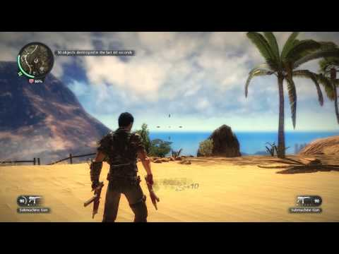 Just Cause 2 Funny Moments#1 Hijacking Stuff