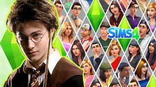 getlinkyoutube.com-Creando un Sim - Los Sims 4 -  DEMO - Harry Potter en Los Sims 4