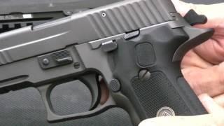 Choosing a SIG P226: Legion vs. MK 25