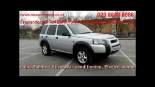 freelander 2.0 td4 bmw turbo diesel engine e 5-door auto mj04 mccarthy cars