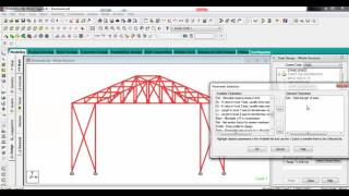 getlinkyoutube.com-Staad Pro Interactive Steel Design using truss best explained in detail