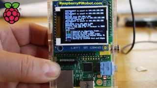 getlinkyoutube.com-1.8 tft lcd display raspberry pi expansion board