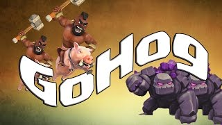 getlinkyoutube.com-Assurer 3 étoiles en Gohog en GDC sous hdv8 et hdv9 - Clash of Clans