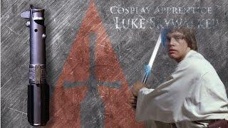 getlinkyoutube.com-How to make a lightsaber - Luke Skywalker, Anakin Skywalker, Finn/Rey